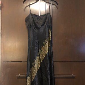 100% Silk Spaghetti Strap dress